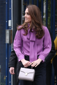 Catherine, Duchess of Cambridge visits the Henry Fawcett Children's Centre