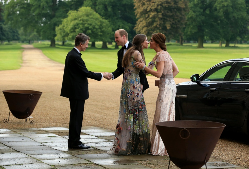 Kate Middleton Prince William Friends