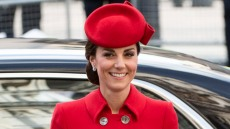 Catherine, Duchess of Cambridge attends the Commonwealth Day Service at Westminster Abbey