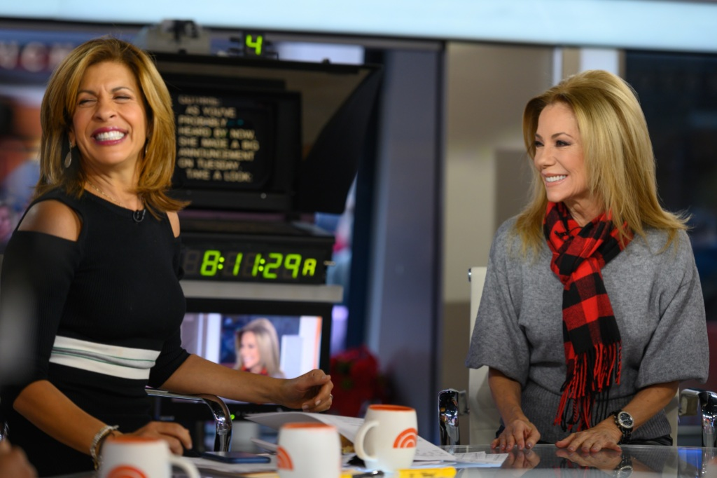 Hoda Kotb and Kathie Lee Gifford on Wednesday, December 12, 2018