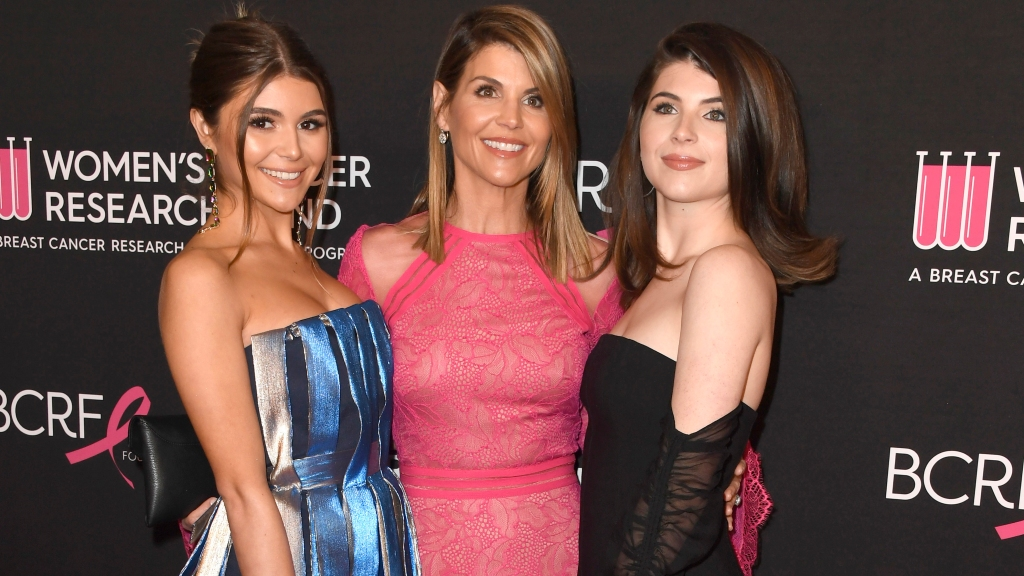 Lori Loughlin and daughters Bella and Olivia Jade