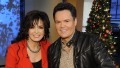 "Donny and Marie Osmond preview their new holiday show in New York City on ""Good Morning America,"""