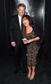 "Steve Craig (L) and entertainer Marie Osmond attend the premiere of Universal Pictures' ""Jason Bourne"""