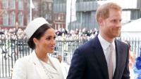 Meghan, Duchess of Sussex and Prince Harry, Duke of Sussex attend the 2019 Commonwealth Day service at Westminster Abbey