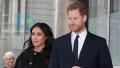 Meghan, Duchess of Sussex and Prince Harry, Duke of Sussex visit New Zealand House to sign the book of condolence on behalf of the Royal Family