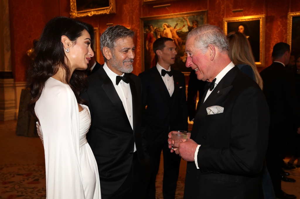 Prince Charles Hosts Friends George and Amal Clooney at Intimate Dinner Party — See the Pics!
