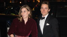 Princess Beatrice of York and Edoardo Mapelli Mozzi attend the Portrait Gala