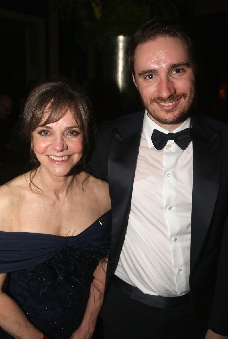 Sally Field and son Sam Greisman