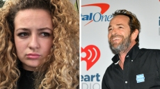 Sophie Perry and Luke Perry