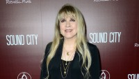 "Musician Stevie Nicks arrives at the Premiere Of ""Sound City"" at ArcLight Cinemas Cinerama Dome o"