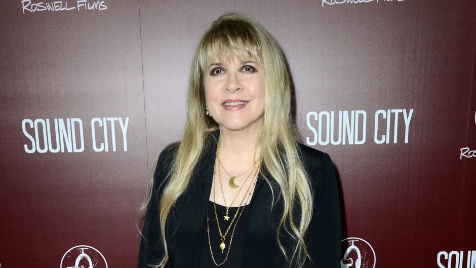 """Musician Stevie Nicks arrives at the Premiere Of """"Sound City"""" at ArcLight Cinemas Cinerama Dome o"""