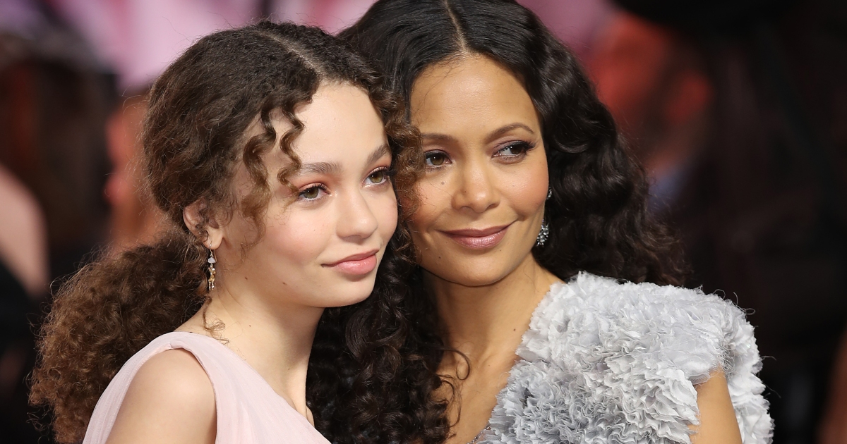 Thandie Newton Attends Dumbo Premiere With Lookalike