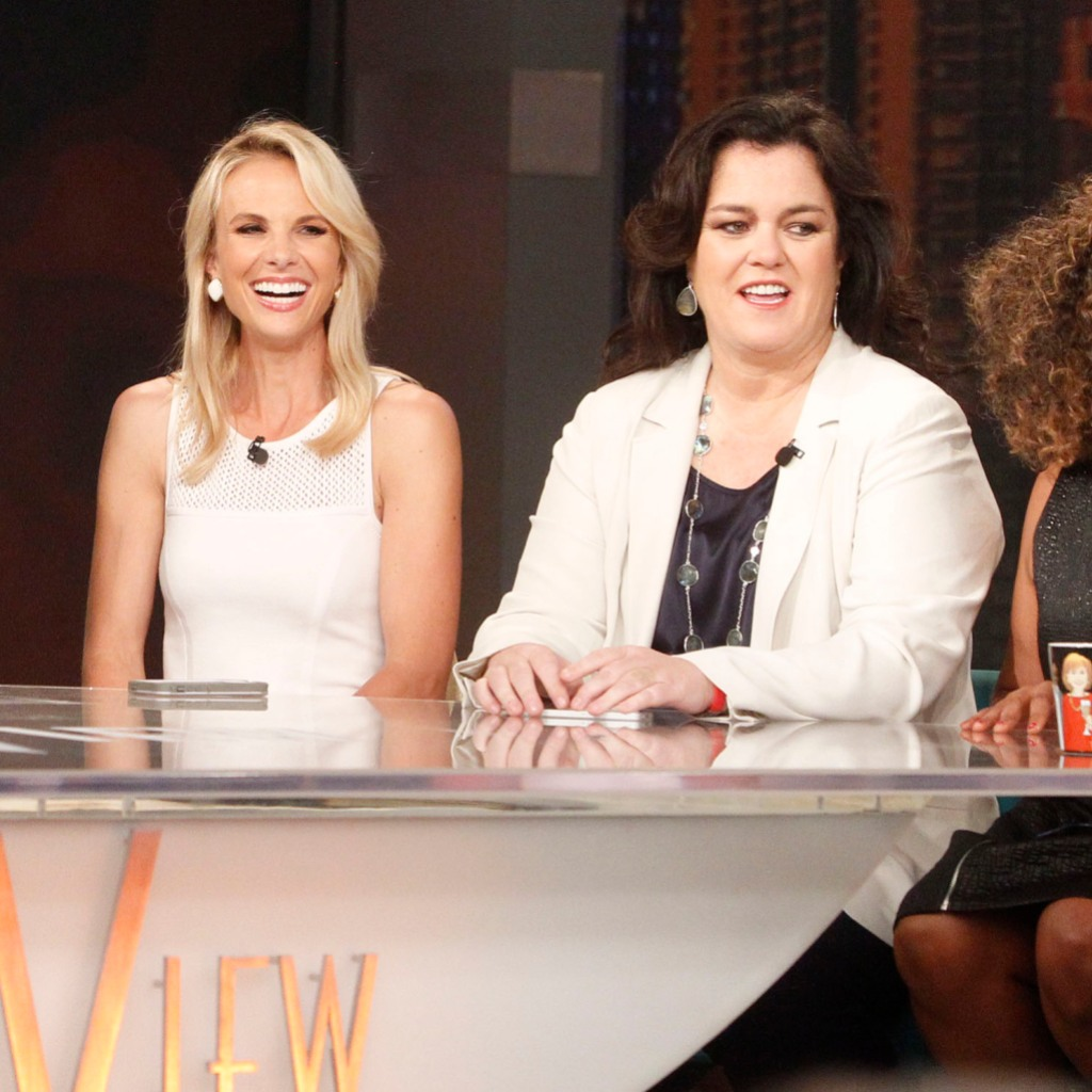 The View Rosie O'Donnell Elisabeth Hasselbeck