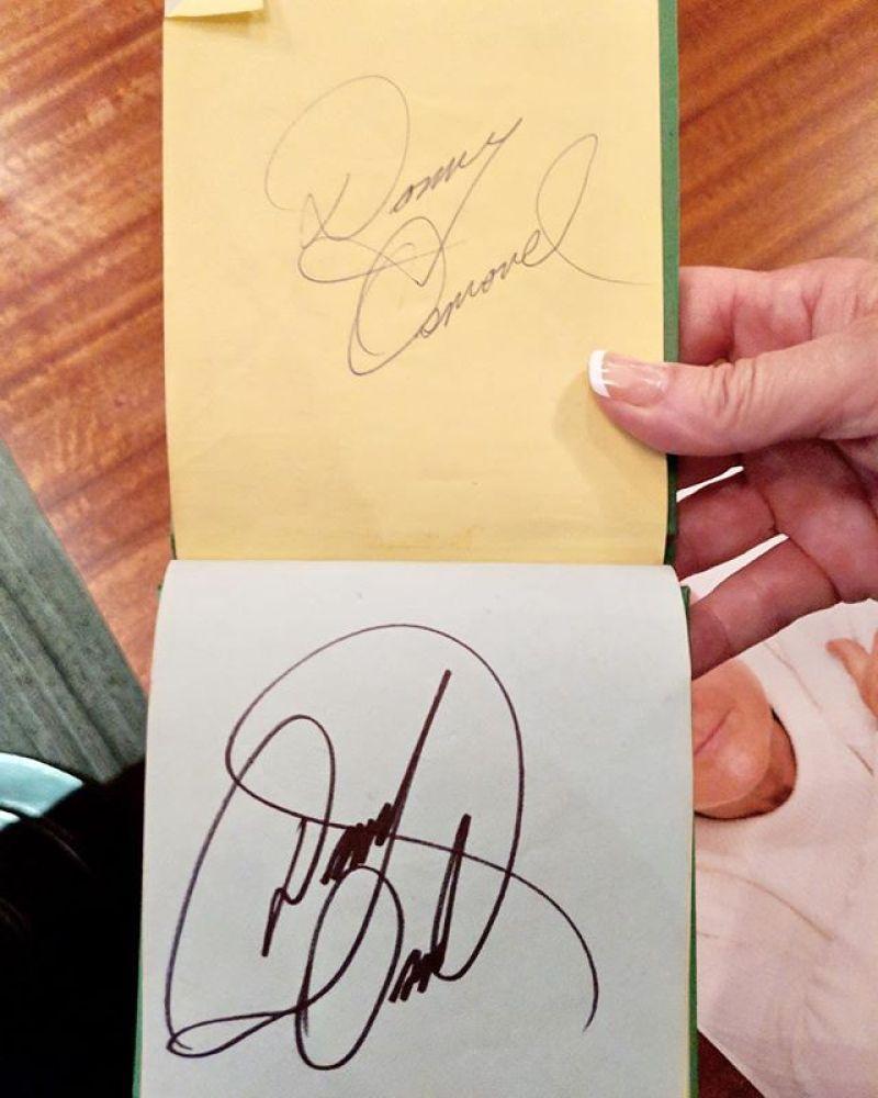 Donny Osmond Signature