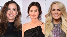 Alanis Morrissette Courteney Cox Carrie Underwood