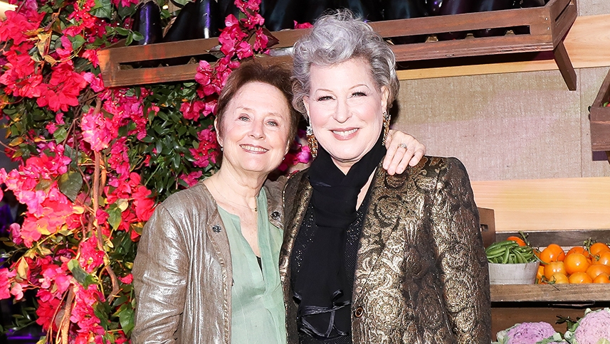Alice Waters Bette Midler