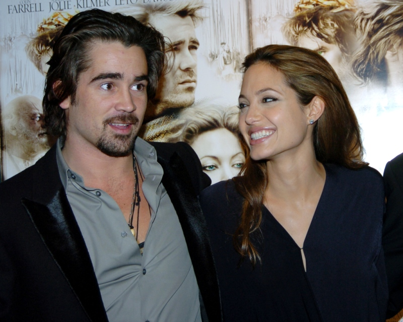 Image result for Is Angelina Jolie and Dumbo Actor Colin Farrell Are Apparently Dating Each Other?