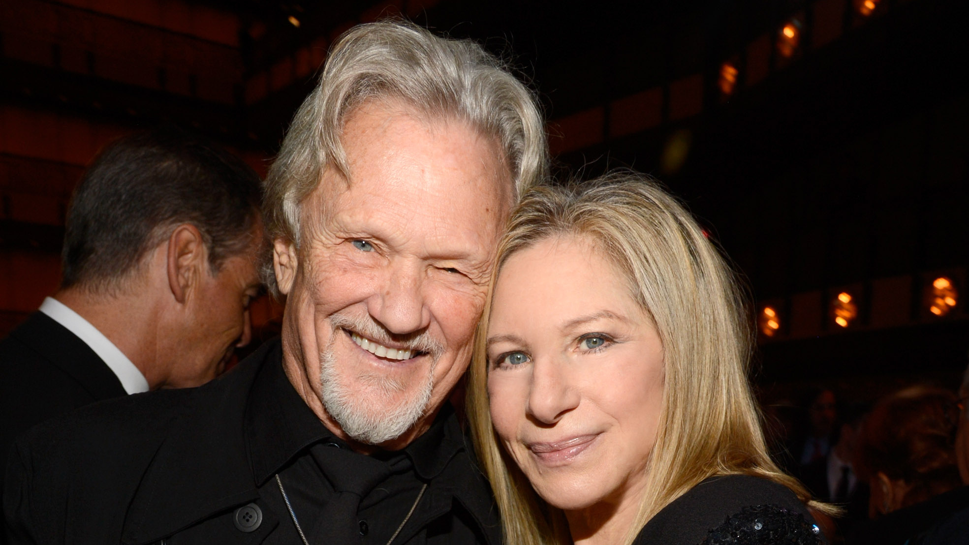 Barbra Streisand and Former Costar Kris Kristofferson Reunite 43 Years After Their Version of 'A Star Is Born' — Look!