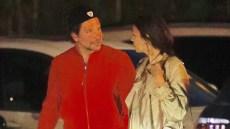 Bradley Cooper Irina Shayk Holding Hands Dinner