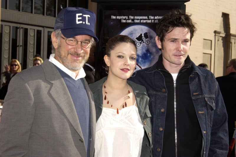 Drew Barrymore Steven Spielberg Henry Thomas