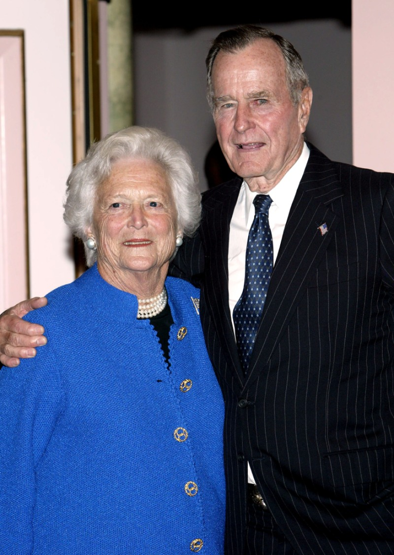 George-H.W.-Bush-And-Barbara-Bush