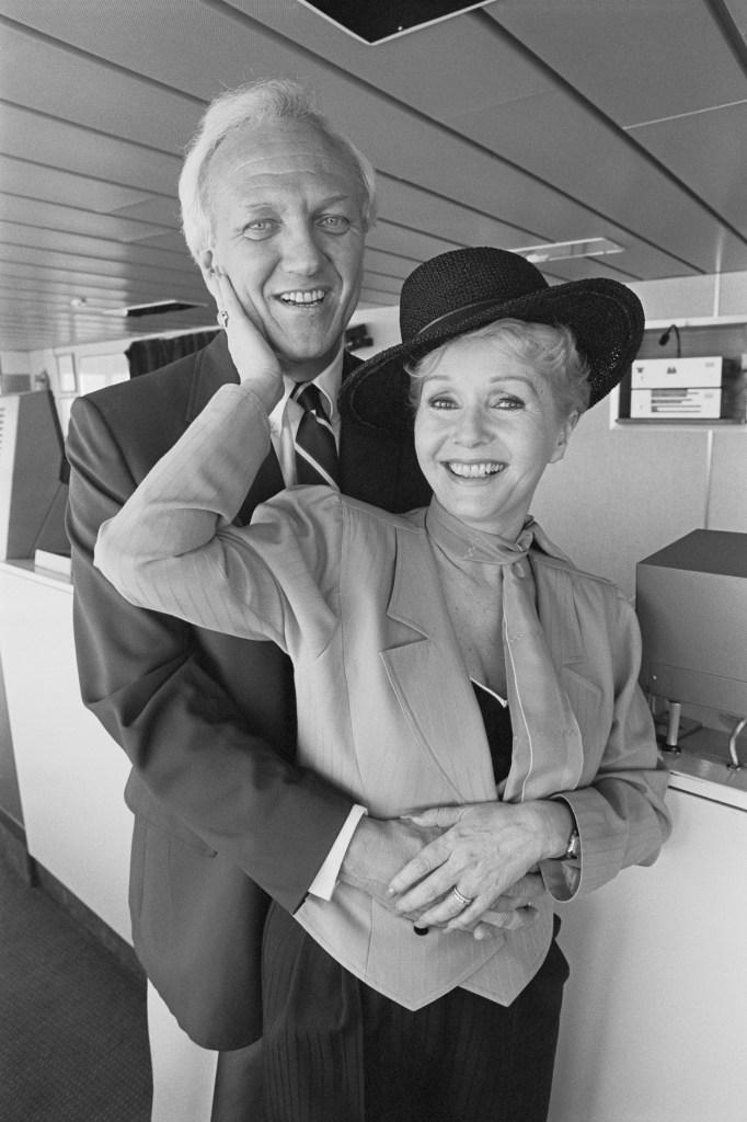 Debbie Reynolds and husband