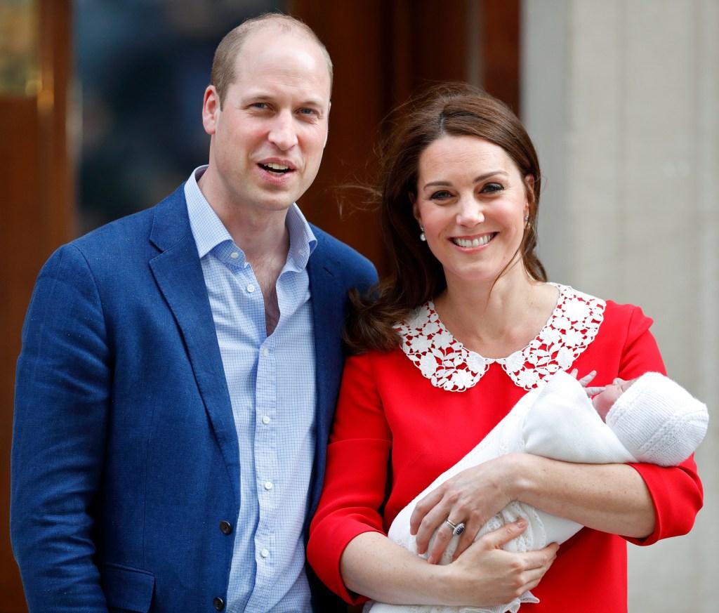 Prince William Kate Middleton Prince Louis
