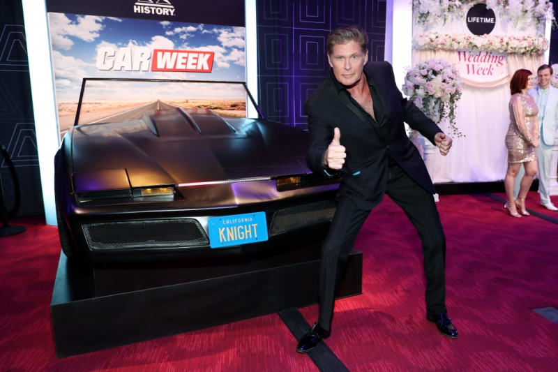 David Hasselhoff Is Getting All Revved Up for a 'Knight