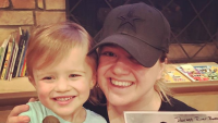 Kelly Clarkson and River Rose