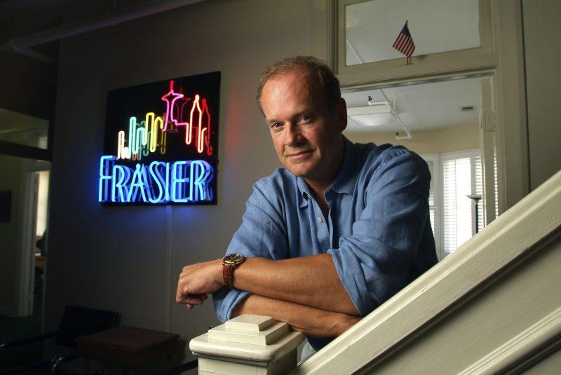 Kelsey Grammer on the set of 'Frasier'