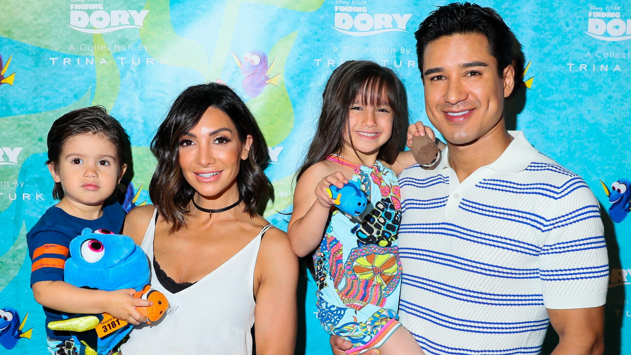 Mario Lopez S Kids Fighting Over Baby No 3 S Name
