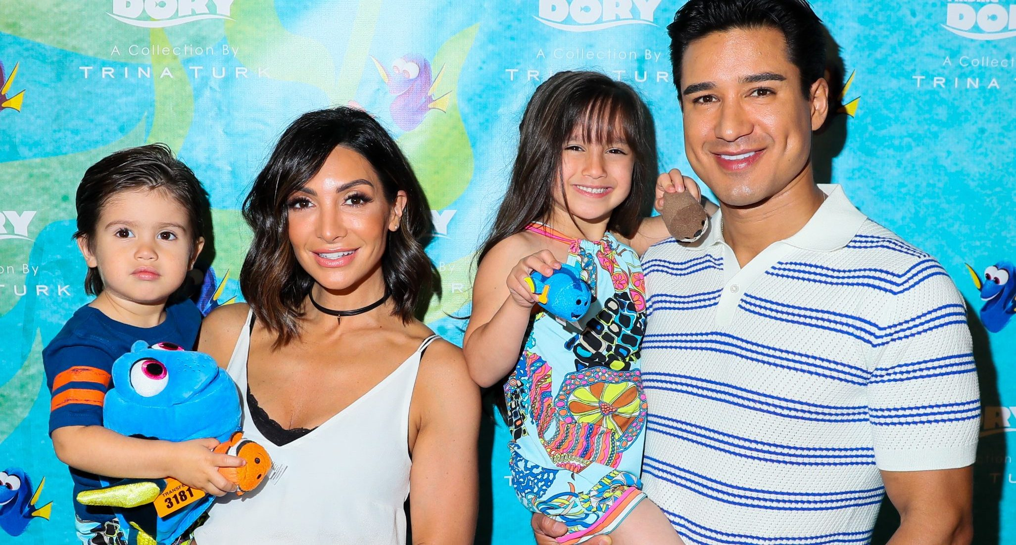 Mario Lopez Courtney Lopez Kids
