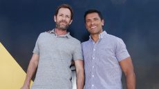 Mark Consuelos Luke Perry