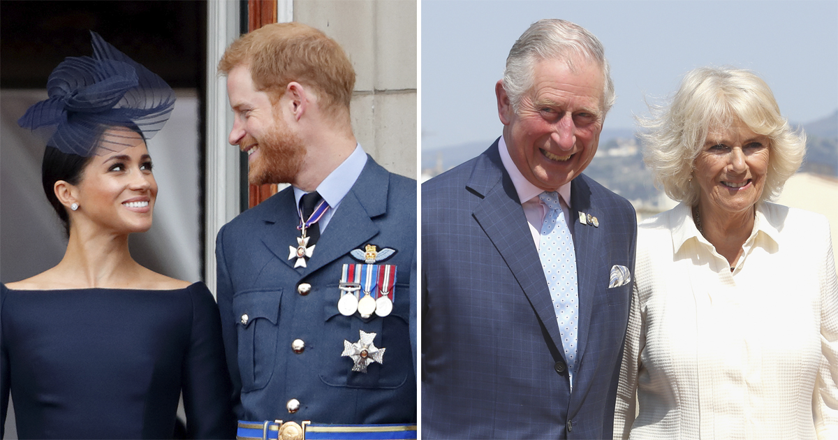 Prince Charles and Camilla Parker Bowles Give a Big Hint About Meghan Markle's Due Date