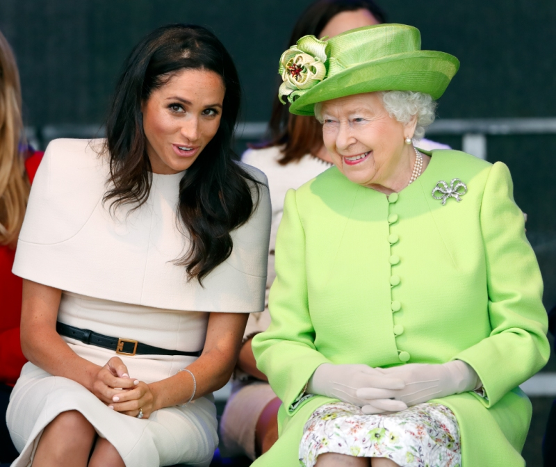 Meghan Markle And Prince Harry Wish Queen Elizabeth Happy