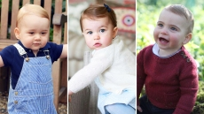 Prince George Princess Charlotte Prince Louis first birthday