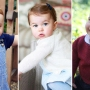 Prince George Princess Charlotte Prince Louis first birthday