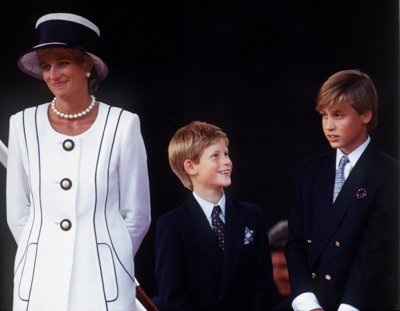 Princess Diana Harry William