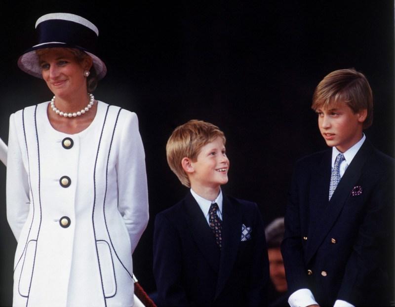 Princess Diana Harry William