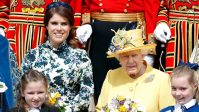 Princess Eugenie Visits St. George's Chapel With Queen Elizabeth 6 Months After Getting Married There — See the Pics!