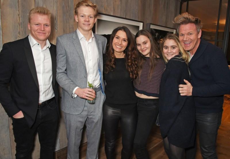 Gordan Ramsay Family