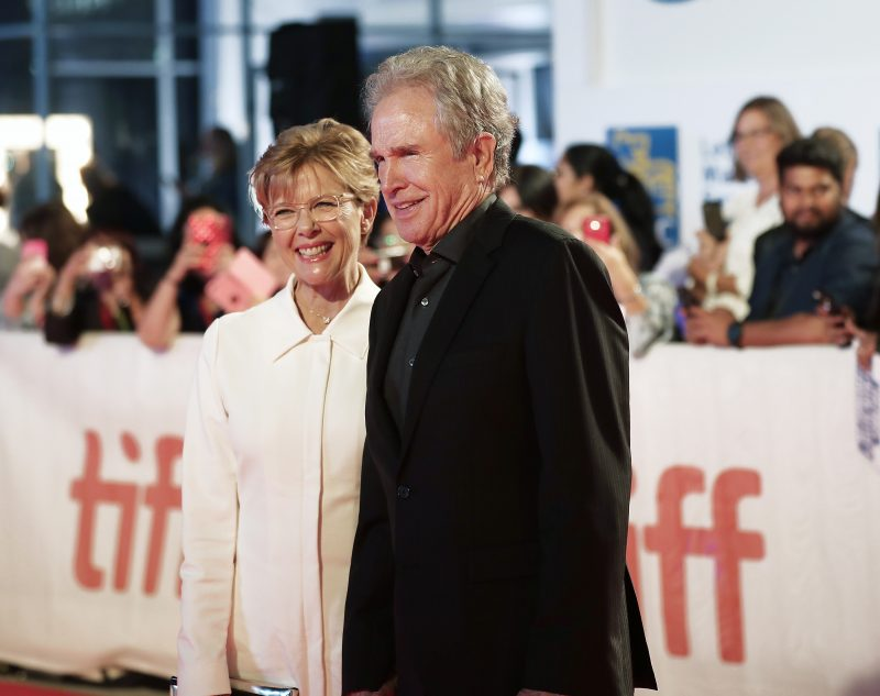 Annette Bening and Warren Beatty in 2017