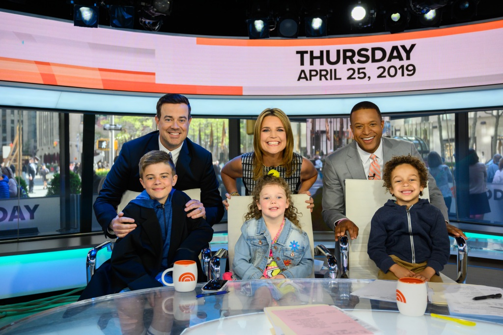 Savannah Guthrie and Other 'Today' Hosts Bring Their Kids for 'Take Our Daughters and Sons to Work Day' — See the Cute Pics!