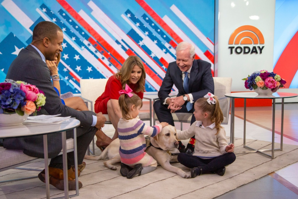 "Craig Melvin, Jenna Bush Hager, and Chesley ""Sully"" Sullenbergeron"