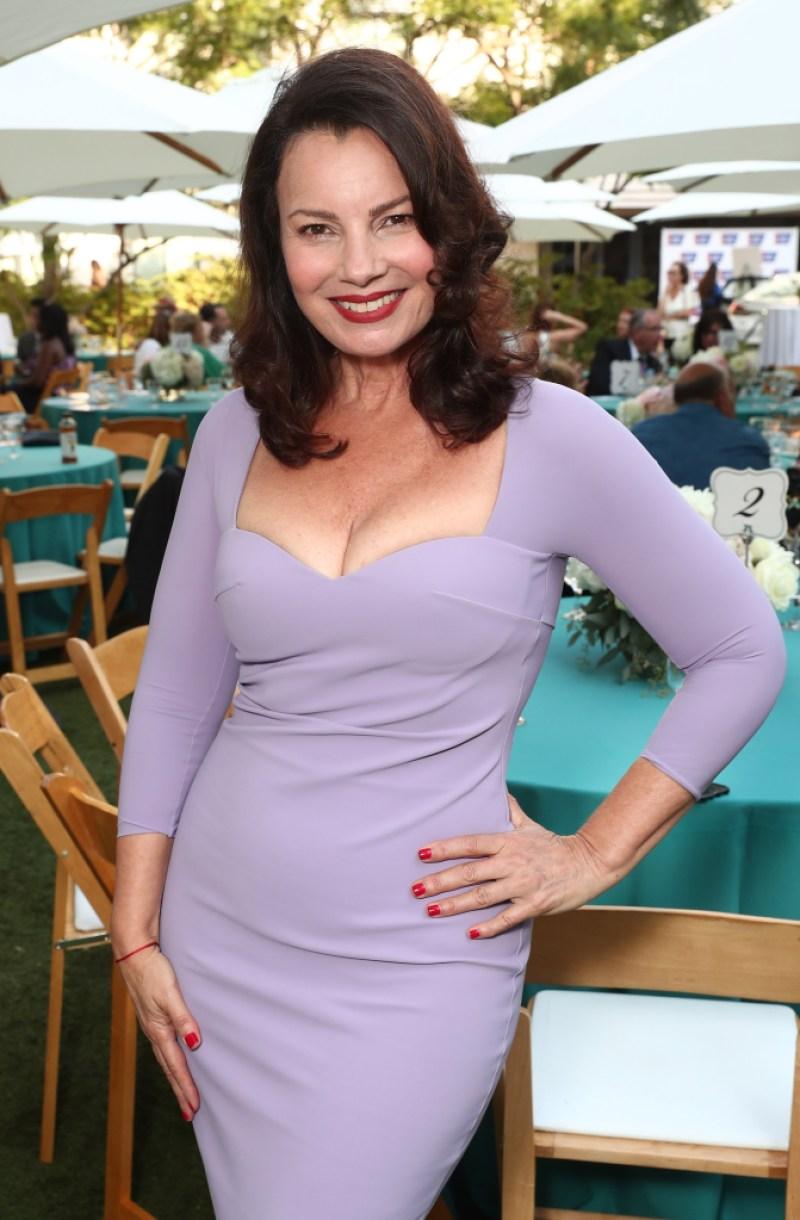 Fran Drescher attends American Cancer Society's California Spirit 32 Gourmet Garden Party