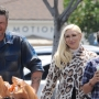 Gwen Stefani attends Easter Sunday Mass with Blake Shelton and her 3 boys at St Brendan Catholic church