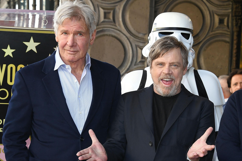 Mark Hamill Impersonates Star Wars Costar Harrison Ford Video