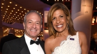 Joel Schiffman and Hoda Kotb attend the 2018 Time 100 Gala