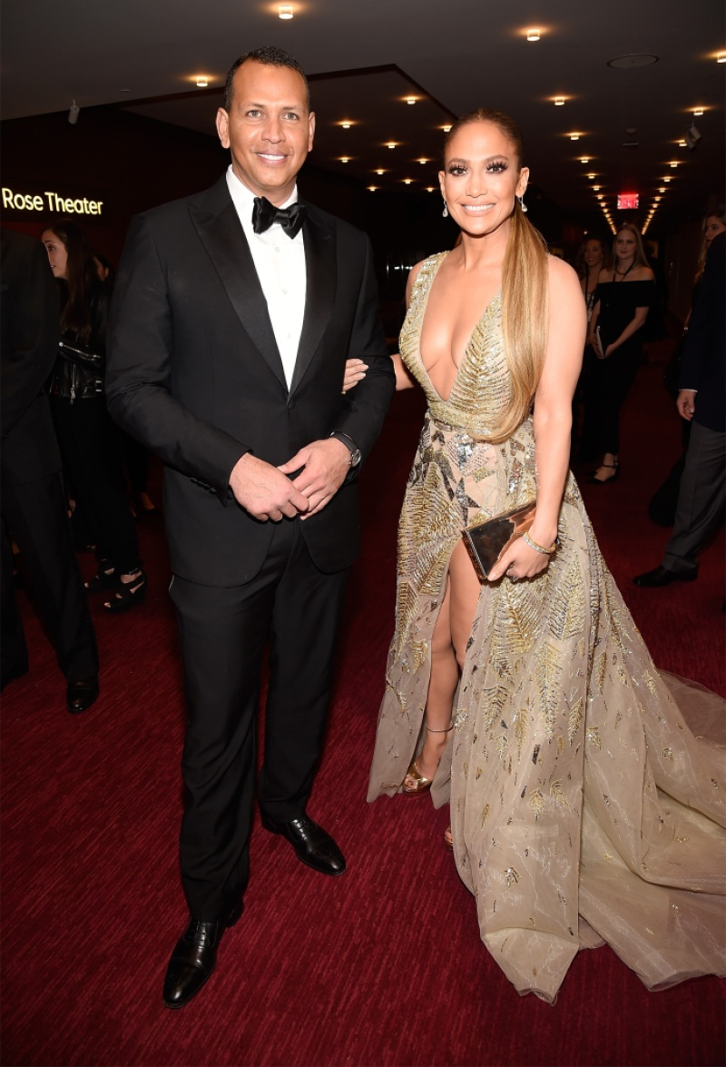 Alex Rodriguez and Jennifer Lopez attend the 2018 Time 100 Gala at Jazz at Lincoln Center
