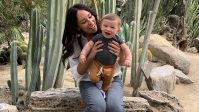 Joanna Gaines and son Crew